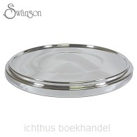 Communion bread plate silver