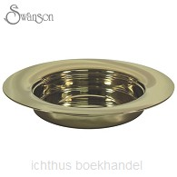 Communion bread plate gold