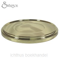 Communion bread plate base gold