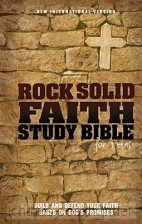NIV Rock solid faith study Bible
