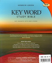 Hebrew-Greek Key Word Study Bible