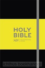 NIV notebook bible black hardcover